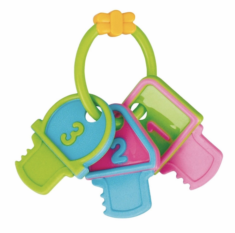 Погремушка-грызунок для зубов Ключи 2/132 Canpol babies (Канпол бебис)