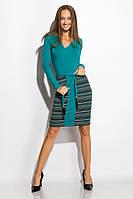Платье женское 120P069 (Бирюзовый)