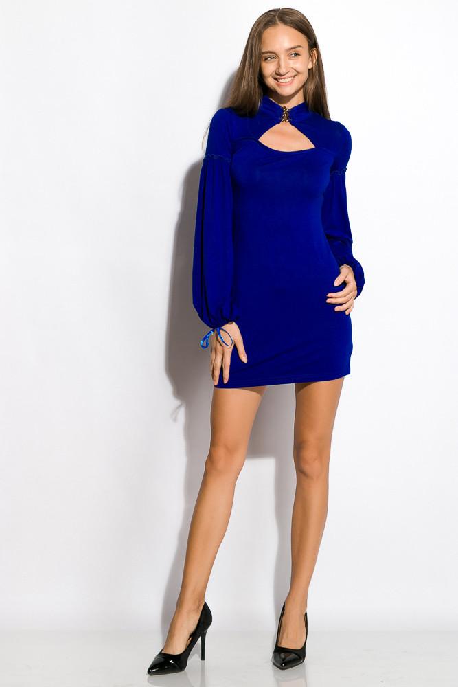 Платье женское ассорти 120P163 (Электрик)