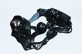 Ліхтарик налобний BL - 2188B Т6 150000W (для риболовлі та полювання )