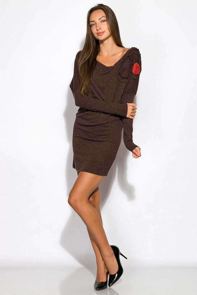 Платье женское ассорти 120P147 (Шоколадный)