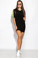 Платье женское ассорти 120P150 (Черно-неоновый), фото 1