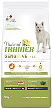 Корм Trainer Dog Sensitive (Трейнер Сенситів) Plus Adult Medium Maxi With Rabbit для собак середніх та великих порід кролик, 3 кг