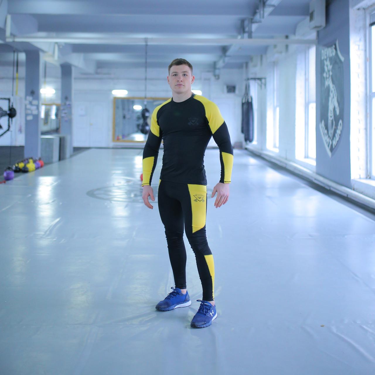 Компрессионная Одежда для спортзала fitU Force FitU