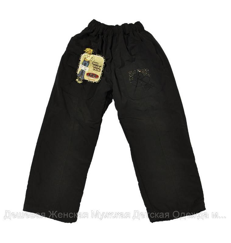 Детские штанишки на флисе