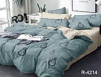Качественный  комплект постельного белья Евро   R4214 Ранфорс