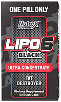 Lipo-6 Black Ultra concentrate Nutrex (60 капс.)