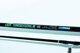 Спінінг короповий Crocodile з ЗАМКОМ! 1.80 м. Тест-250г.
