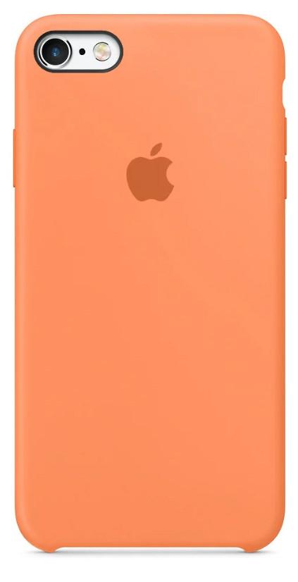 Задняя накладка Hi-Copy Silicone Case APPLE IPHONE 6 | 6S (№56 PAPAYA)