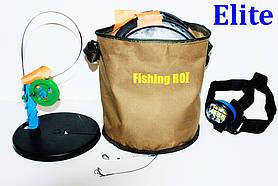 Жерлицы (оснащені 10 шт.) Fishing ROI + ліхтарик