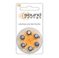 Батарейки для слуховых аппаратов Rayovac Sound Energy 13 (1 шт)