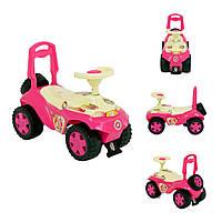 Автомобиль-каталка  Oriosha (розовый)
