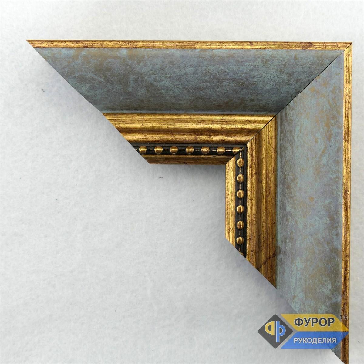 Рамка на заказ для картины, иконы, фото, вышивки, зеркала серая (ФРЗ-5081)