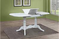 Стіл обідній  ШЕРВУД  розкладний 120  Микс мебель,  білий слонова кістка