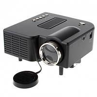 Мини-проектор UNIC 28 Black для телефона смартфона ноутбука планшета