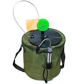 Жерлица (щуколовка) Хмельницька оснащена - 10шт. + подарунок (багор)