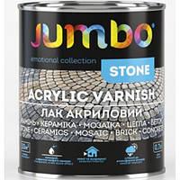 Лак по камню акрил Jumbo STONE SWL-12 полуматовый 0,7л
