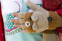 Детская перчатка-митенка, фото 1