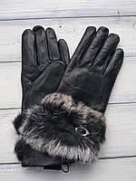 Женские перчатки Felix с мехом Средние 9-353, фото 1
