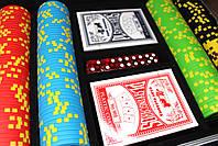 """Набор для покера """"Compass"""" 200 фишек, фото 2"""