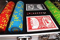 """Набор для покера """"Compass"""" 200 фишек, фото 4"""