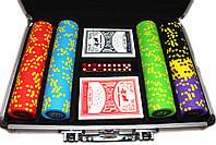 """Набор для покера """"Compass"""" 200 фишек, фото 5"""