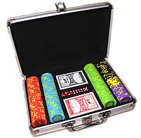 """Набор для покера """"Compass"""" 200 фишек, фото 6"""