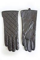 Женские кожаные перчатки ВЯЗКА  2-383, фото 1