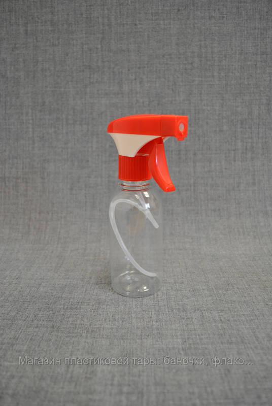 Бутылка ПЭТ 200 мл с пенообразующим триггером