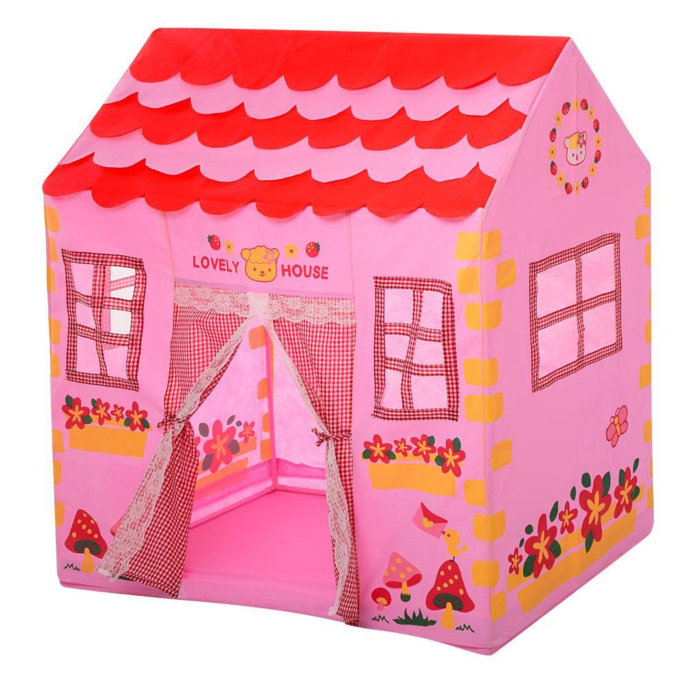 Палатка-домик Bambi M 3767 розовый для девочек