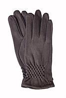 Женские стрейчевые перчатки темно-коричневые 123S3, фото 1