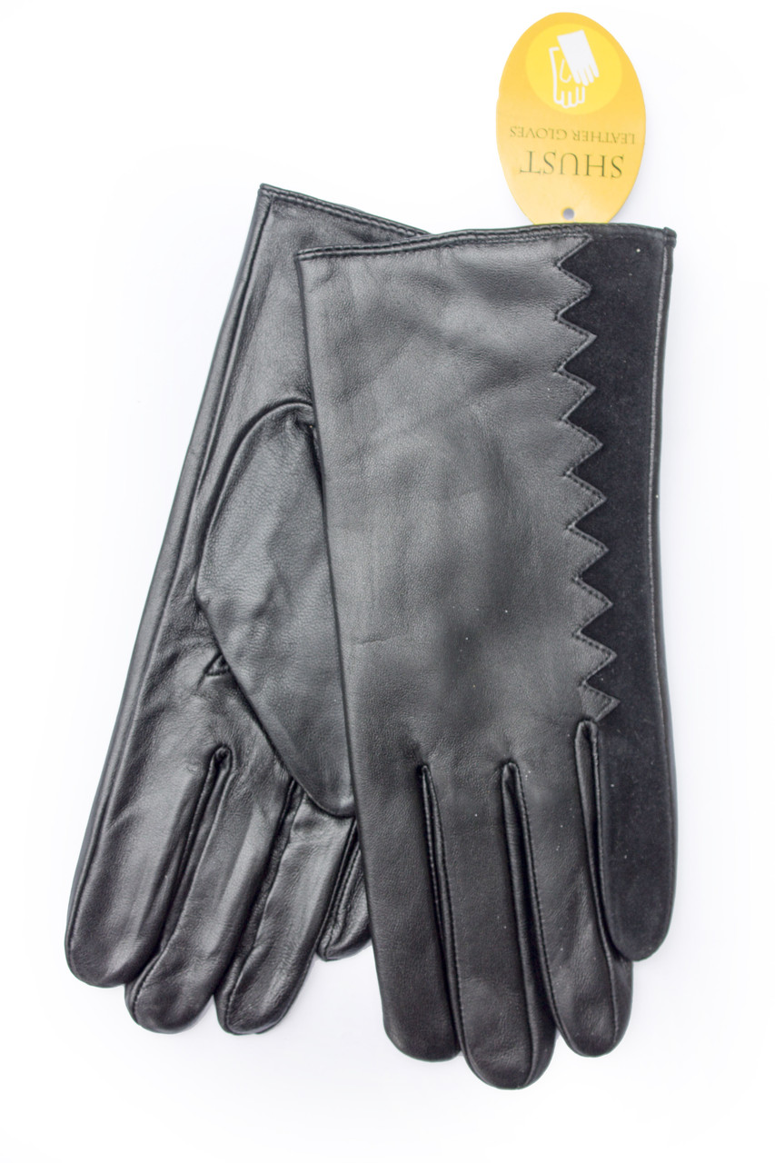 Женские кожаные перчатки 2-734s3