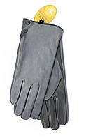 Женские комбинированные перчатки кожа+замша  11-759s3, фото 1