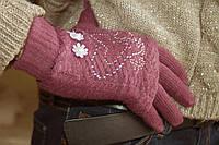 Вязаные перчатки, фото 1