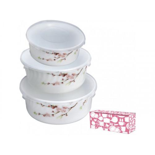 Набор салатников S&T Японская вишня 3 шт 61122 30053