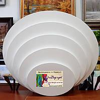 Бавовняне полотно 60*50 ДенверАрт(галерейна натяжка, бавовна,середнє зерно, колір білий )