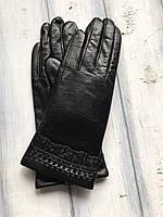 Женские Коричневые перчатки самый маленькие размер, фото 1