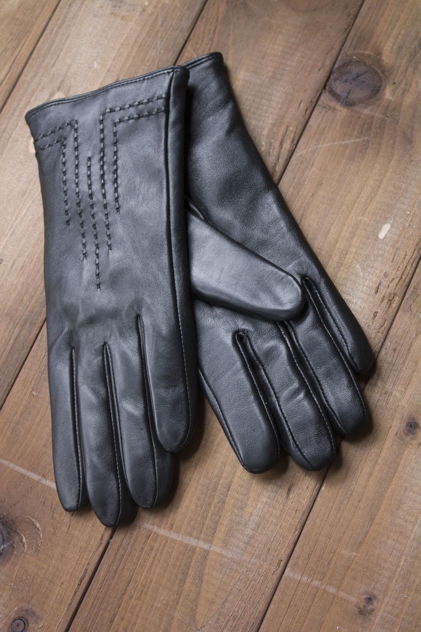 Женские кожаные сенсорные перчатки 1-948
