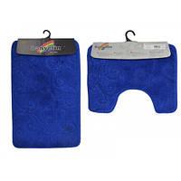 Коврик Banyolin 50*80 см Медиум Ярко-Синий 2 предмета
