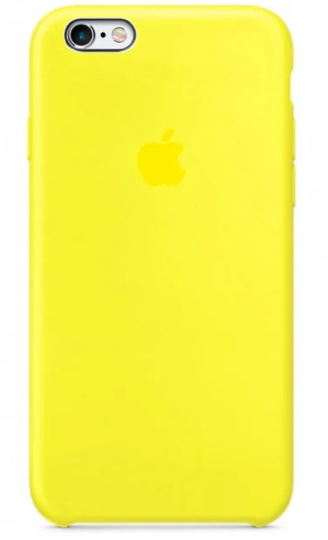 Задняя накладка Hi-Copy Silicone Case APPLE IPHONE 6 | 6S (№32 FLASH)