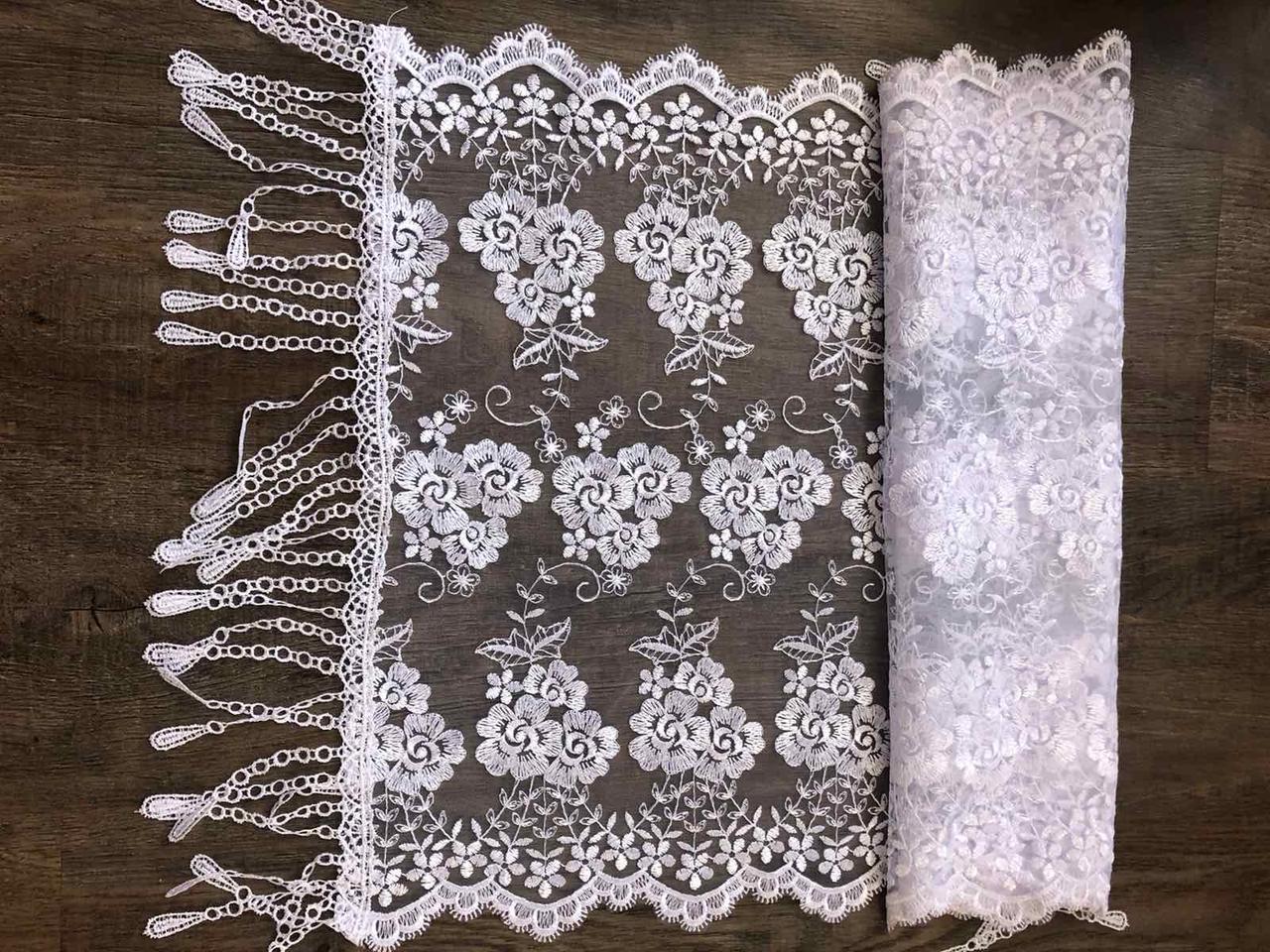 Свадебный шарф для невесты Кs 3