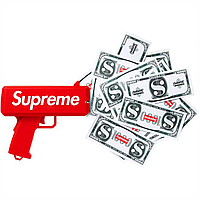 Пистолет для денег Supreme Money Gun с логотипом