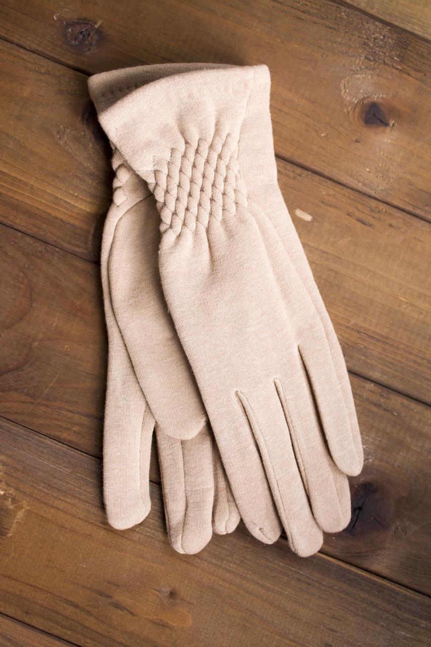 Женские стрейчевые перчатки 111