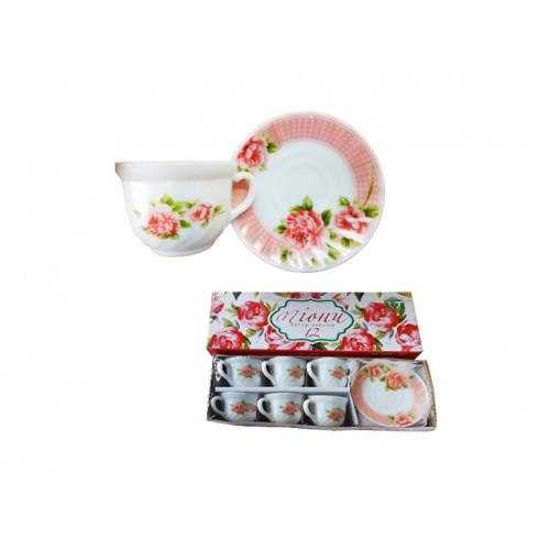 Сервиз чайный S&T Пион 12 пр 30055-003