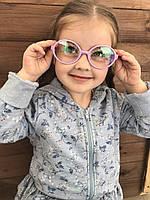 Дитячі окуляри для стилю Рожеві 2001-6, фото 1