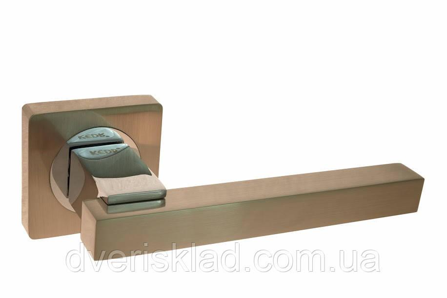 Ручка на розете (квадрате) R08.103 AL  KEDR