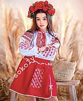 Вишитий костюм для дівчинки Український орнамент(2-11років)