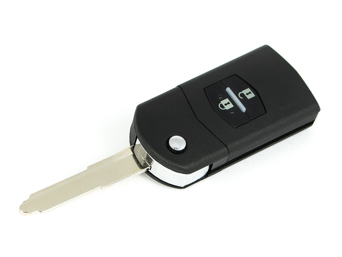 Корпус ключа  Mazda 2 3 6 CX-7 RX-8 2кнопки