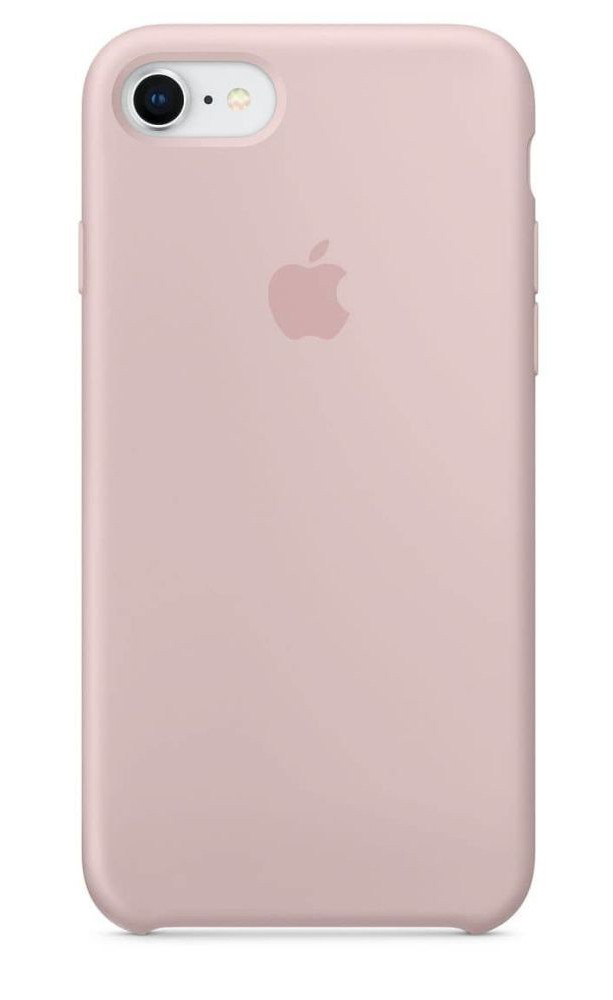 Задняя накладка Hi-Copy Silicone Case APPLE IPHONE 6 | 6S (№19 PINK SAND)