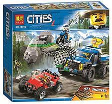 """Конструктор Bela 10862 (аналог Lego City 60172) """"Погоня по грунтовой дороге"""", 315 деталей"""